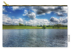 Across The Lake Carry-all Pouch by Isabella F Abbie Shores FRSA