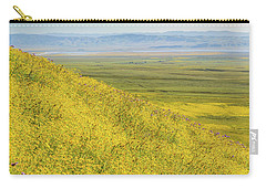 Carry-all Pouch featuring the photograph Across The Plain by Marc Crumpler