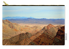 Across The Range Carry-all Pouch by Nature Macabre Photography
