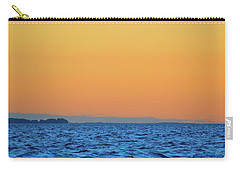 Carry-all Pouch featuring the photograph Across The Water  by Lyle Crump