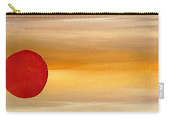 Acrylic Abstract Painting Sunny Day Carry-all Pouch