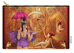 Act 4 Circus Pipe Dreams Alice In A Wonderland Carry-all Pouch