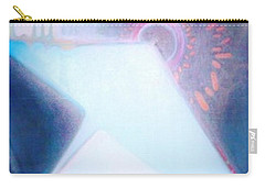 Carry-all Pouch featuring the painting Act Of Creation by Denise Fulmer