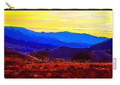 Acton California Sunset Carry-all Pouch