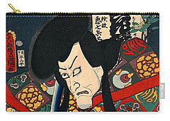 Actor Aku Hichibei 1863 Carry-all Pouch