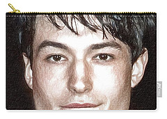 Actor And Musician Ezra Miller Carry-all Pouch by Best Actors