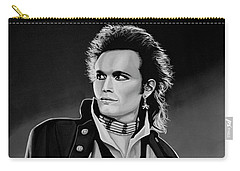 Adam Ant Painting Carry-all Pouch by Paul Meijering