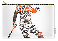 Adam Jones Baltimore Orioles Pixel Art 11 Carry-all Pouch