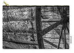 Carry-all Pouch featuring the photograph Adam's Mill Water Wheel by Melissa Lane