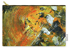 Carry-all Pouch featuring the painting Addicted To Chaos by Everette McMahan jr