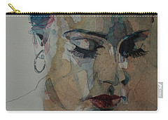 Adele - Make You Feel My Love  Carry-all Pouch by Paul Lovering