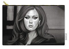 Adele Mixed Media Carry-all Pouch by Paul Meijering