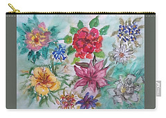 Adele's Garden Carry-all Pouch