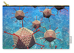 Adenovirus Particles 3 Carry-all Pouch