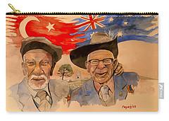 Adil Sahin And Len Hall Carry-all Pouch by Ray Agius
