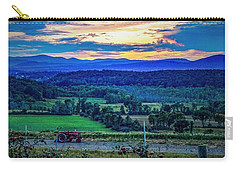 Carry-all Pouch featuring the photograph Adirondack Country by Kendall McKernon