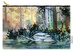 Carry-all Pouch featuring the painting Admiralty Island by Teresa Ascone