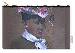 Admirer, 1947 Easter Bonnet -- The Original -- Retro Portrait Of African-american Woman Carry-all Pouch