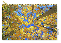 Admiring Aspens - Colorado - Autumn Carry-all Pouch by Jason Politte
