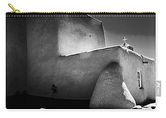 Adobe Church In B-w Carry-all Pouch