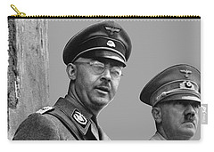 Adolf Hitler And Gestapo Head Heinrich Himmler Watching Parade Of Nazi Stormtroopers 1940-2015 Carry-all Pouch by David Lee Guss