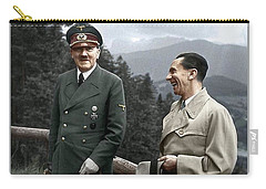 Adolf Hitler Joseph Goebbels Berghof Retreat  Number 2 Agfacolor Heinrich Hoffman Photo Circa 1942 Carry-all Pouch
