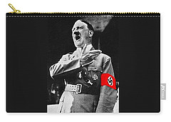 Adolf Hitler Ranting 1  Carry-all Pouch by David Lee Guss