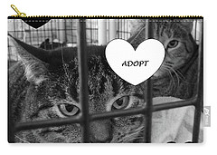 Adopt Carry-all Pouch by Mary Ellen Frazee