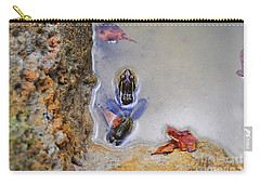 Carry-all Pouch featuring the photograph Adopted Amphibian by Al Powell Photography USA