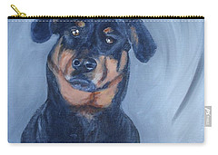 Carry-all Pouch featuring the painting Adrian by Donna Tuten