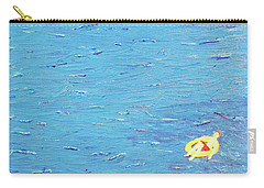 Carry-all Pouch featuring the painting Adrift by Thomas Blood