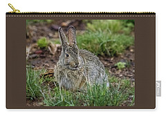 Adult Rabbit Grazing Carry-all Pouch