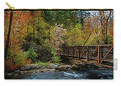 Carry-all Pouch featuring the photograph Adventure Bridge by Scott Read