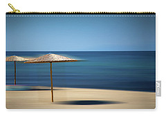 Carry-all Pouch featuring the photograph Aegean Sea by Milena Ilieva