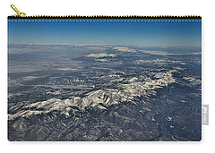 Carry-all Pouch featuring the photograph Aerial 3 by Steven Richman