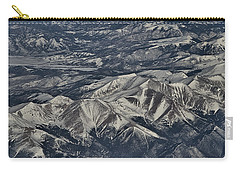 Carry-all Pouch featuring the photograph Aerial 4 by Steven Richman