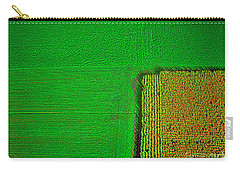 Aerial Farm Mchenry Il  Carry-all Pouch by Tom Jelen