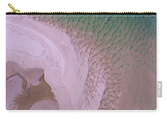 Carry-all Pouch featuring the photograph Aerial Image Of Noosa River Fine Details by Keiran Lusk