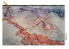 aerial landscape abstract of Colorado foothills Carry-all Pouch