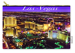 Aerial Las-vegas Carry-all Pouch