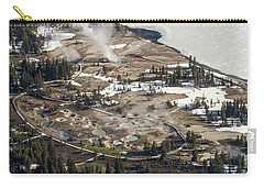 Aerial Photo Of West Thumb Geyser Basin Carry-all Pouch