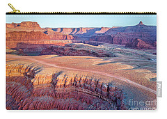 aerial view of Colorado RIver canyon Carry-all Pouch