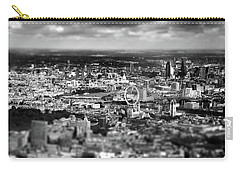 Aerial View Of London 6 Carry-all Pouch by Mark Rogan