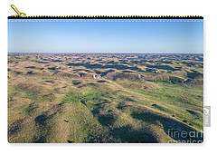 aerial view of Nebraska Sand Hills  Carry-all Pouch