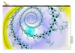 Carry-all Pouch featuring the digital art Afabliting by Andrew Kotlinski