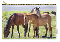 Affectionate Mustangs Carry-all Pouch