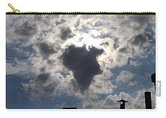 Africa Cloud Shape  Carry-all Pouch by Don Koester