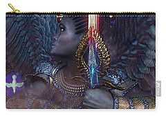 African Angel 6 Carry-all Pouch by Suzanne Silvir