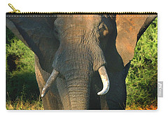 African Bull Elephant Carry-all Pouch