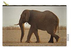African Elephant Walk Carry-all Pouch by Ernie Echols
